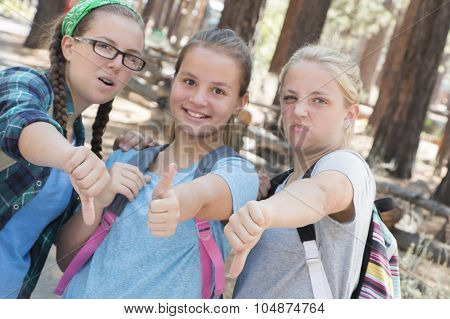Girls Thumbs