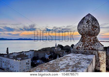Lookout Tower In Zadar