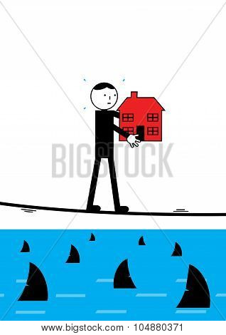 Mortgage Tightrope