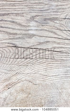 Wood Surface With Patina
