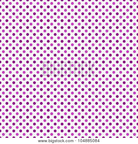 Pink And White Polka Dot  Abstract Design Tile Pattern Repeat Background