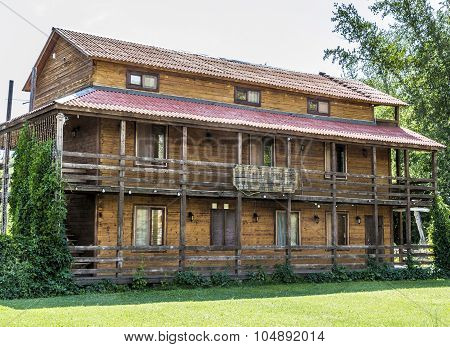 Hotel Ranch In The Village Lower Sancheleevo, Samara Region, Russia.