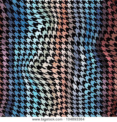 Houndstooth pattern.