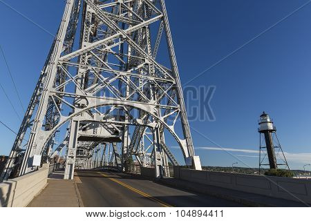 Duluth Lift Bridge Road