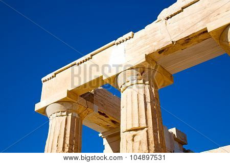 Historical    In Greece The  Historical Place Parthenon