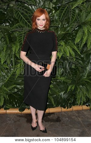LOS ANGELES - OCT 6:  Christina Hendricks at the Club Tacori Riviera at the Roosevelt at the Roosevelt Hotel on October 6, 2015 in Los Angeles, CA