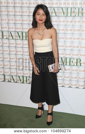 LOS ANGELES - OCT 13:  Alice Geo at the La Mer Celebration Of An Icon Global Event at the Siren Studios on October 13, 2015 in Los Angeles, CA