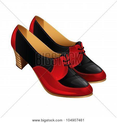 Classic autumn shoe