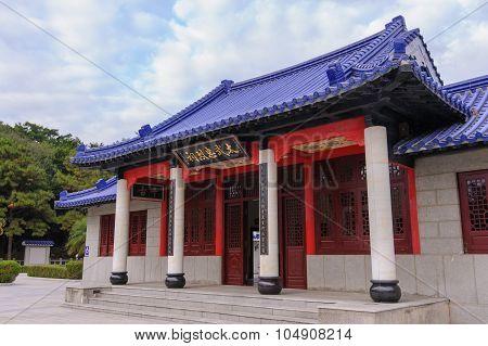 martyrs' shrine in Kinmen