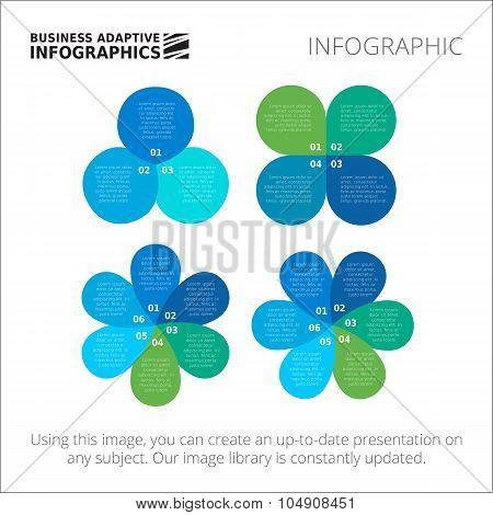 Circular and petal diagrams template