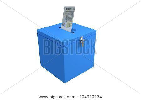 Election Ballot Concept