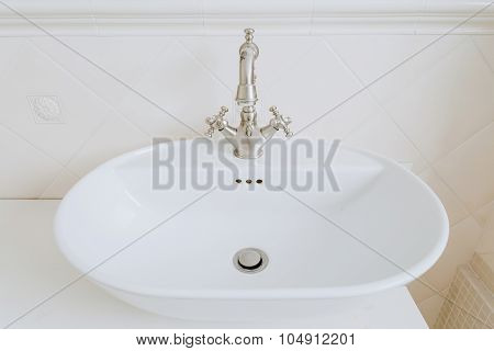 Sink With Old Style Tap