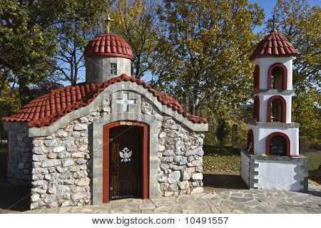 Small orthodox church at north Greece