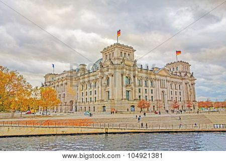Reichstag, Berlin, Hdr Style
