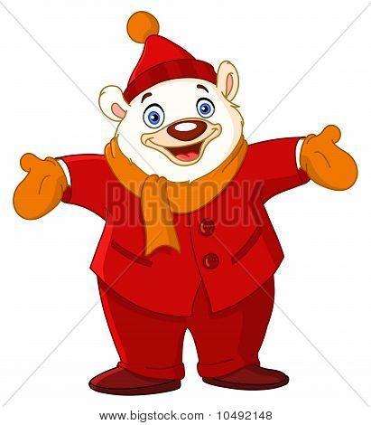 Cheerful Polar Bear
