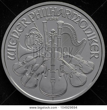 Austraia Philharmonic Silver Coin Ag