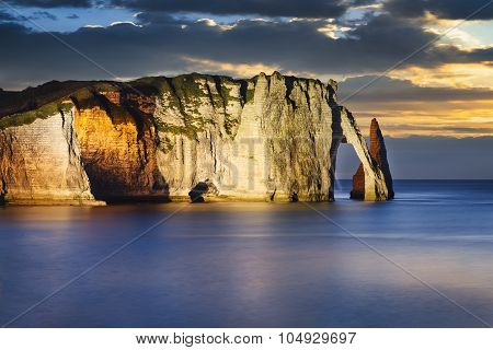 Etretat Cliff In Normandy