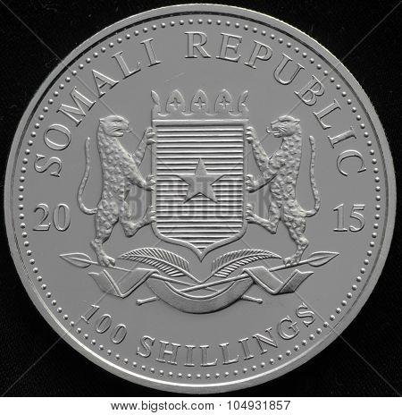 Somali Republic Silver Coin