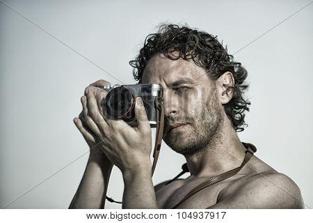 Professional Man Photographer