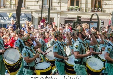 Spanish Legionnaires Band