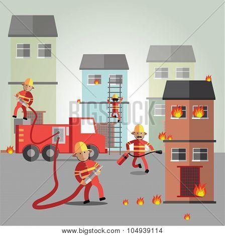 fireman eps10format