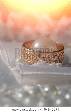 One Golden Wedding Ring