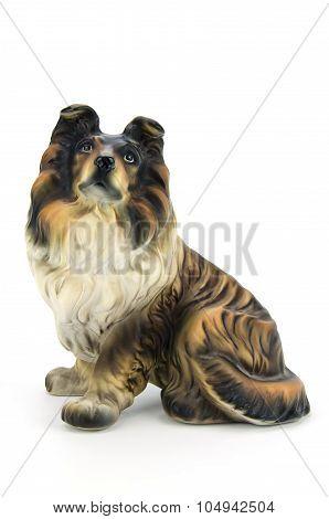 Statuette Of Dog