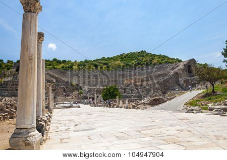 Amphitheater, Ephesus Ancient City, Selcuk, Turkey