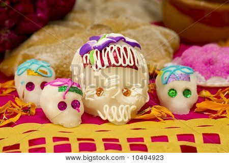 Mexican Skull Candy