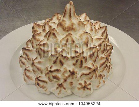 Plated Baked Alaska