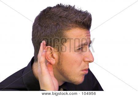No puede oír!