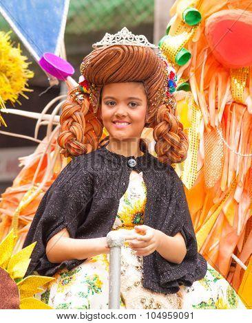 Las Palmas De Gran Canaria Children Carnival  Parade 2015