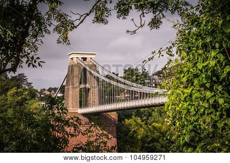 View of Clifton Bridge