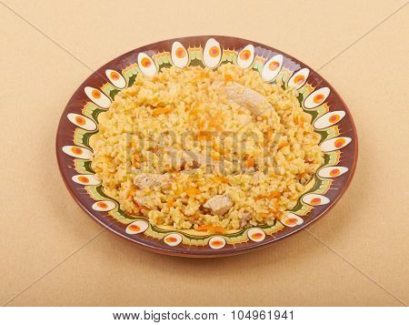 Pilaf Dish