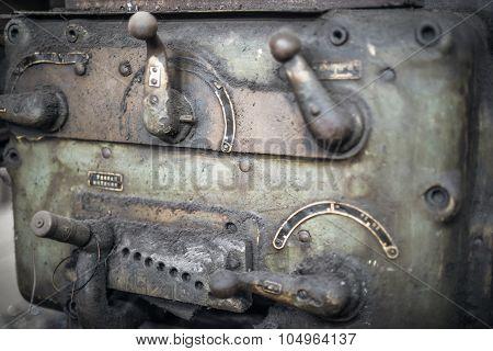 Vintage Lathe -- Detail
