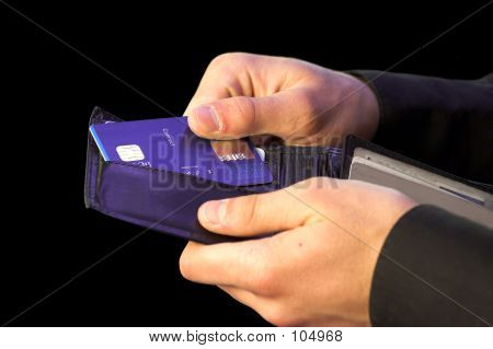 Credit Card Payment - Hands