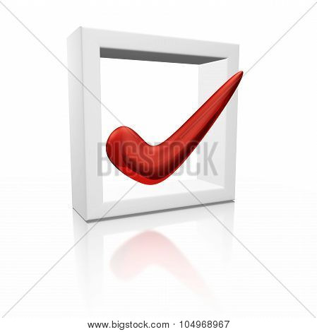 Choice Check Mark In A Box