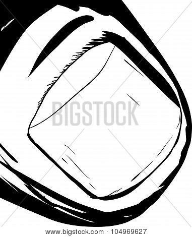 Outlined Thumbnail Closeup