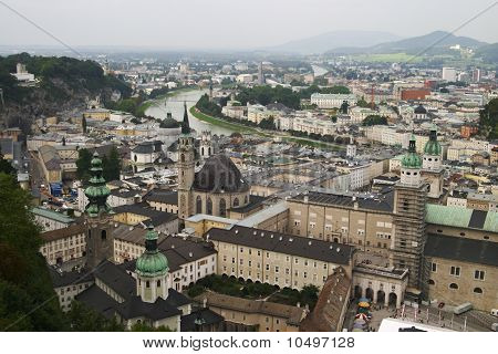 Salzburg, Seen From The Castle