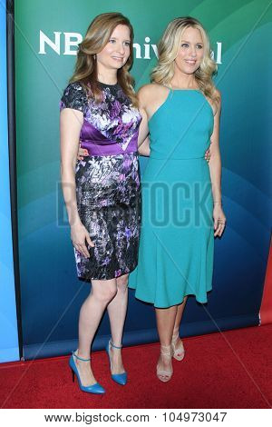LOS ANGELES - AUG 12:  Lennon Parham, Jessica St Clair at the NBCUniversal 2015 TCA Summer Press Tour at the Beverly Hilton Hotel on August 12, 2015 in Beverly Hills, CA