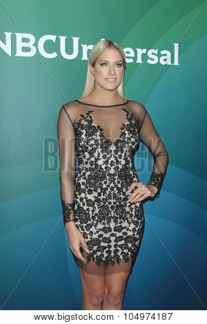 LOS ANGELES - AUG 12:  Barbie Blank at the NBCUniversal 2015 TCA Summer Press Tour at the Beverly Hilton Hotel on August 12, 2015 in Beverly Hills, CA