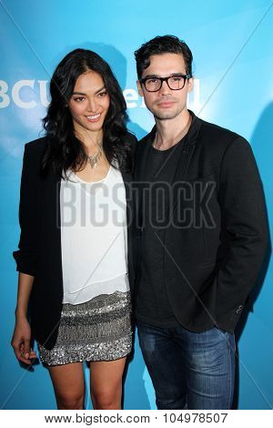 LOS ANGELES - AUG 12:  Florence Faivre, Steven Strait at the NBCUniversal 2015 TCA Summer Press Tour at the Beverly Hilton Hotel on August 12, 2015 in Beverly Hills, CA