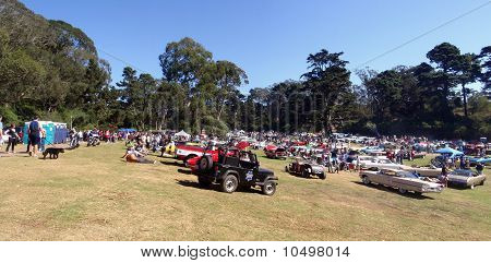 Carfest In Golden Gate Park Featuring All Sorts Of Cars