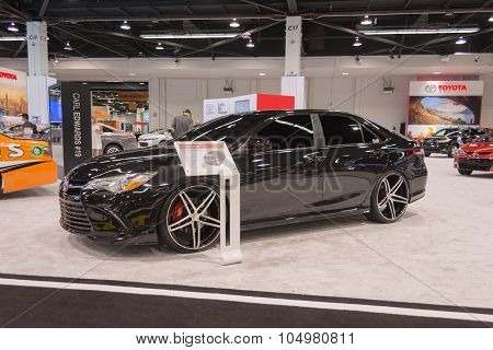 Toyota Camry Customize  On Display.