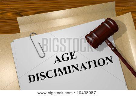 Age Discrimination Concept