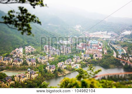 China Shenzhen Overseas Chinese Town Of Mountain Villas