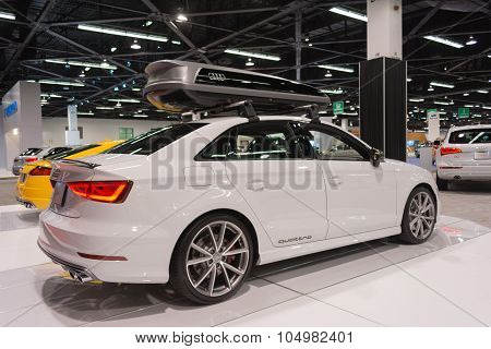 Audi S3 Quattro On Display.