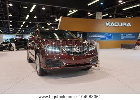Acura Rdx On Display.