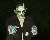 stock photo of frankenstein  - A Frankenstein - JPG