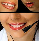 foto of pouty lips  - Beautiful girl - JPG